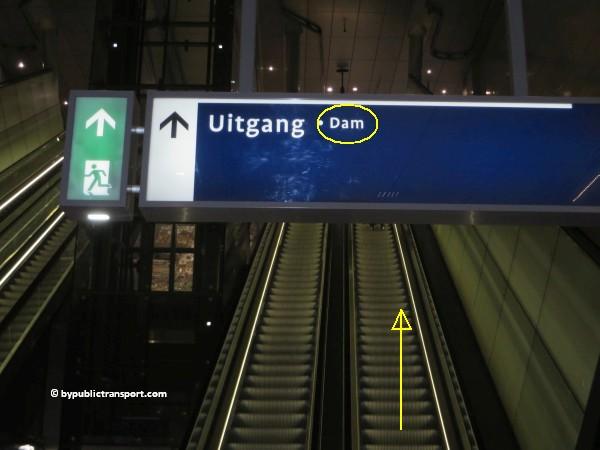 hoe kom ik bij de noordermarkt amsterdam met het ov openbaar vervoer by public transport 24