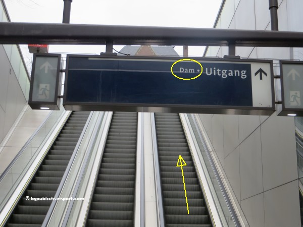 hoe kom ik bij de noordermarkt amsterdam met het ov openbaar vervoer by public transport 26