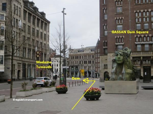 hoe kom ik bij de noordermarkt amsterdam met het ov openbaar vervoer by public transport 27