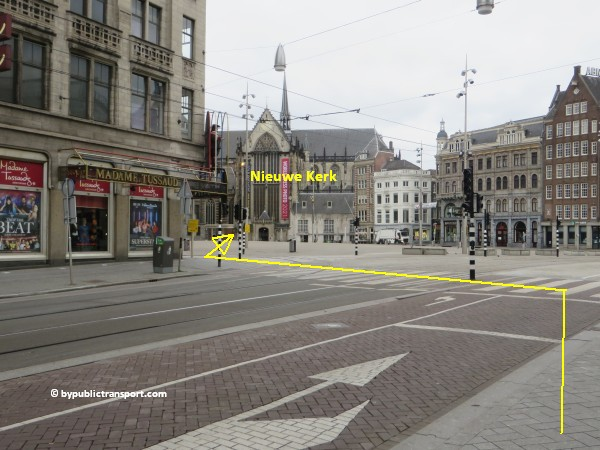 hoe kom ik bij de noordermarkt amsterdam met het ov openbaar vervoer by public transport 28