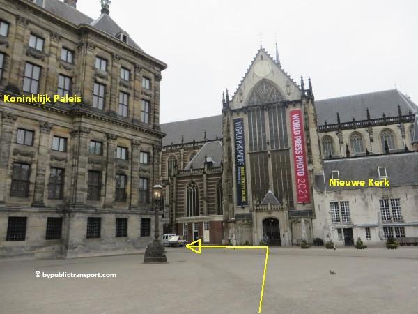 hoe kom ik bij de noordermarkt amsterdam met het ov openbaar vervoer by public transport 30