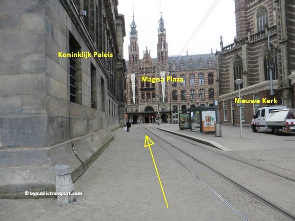 hoe kom ik bij de noordermarkt amsterdam met het ov openbaar vervoer by public transport 31