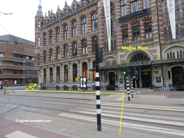 hoe kom ik bij de noordermarkt amsterdam met het ov openbaar vervoer by public transport 32