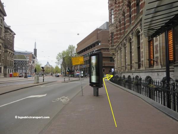 hoe kom ik bij de noordermarkt amsterdam met het ov openbaar vervoer by public transport 33
