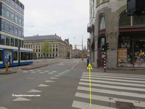 hoe kom ik bij de noordermarkt amsterdam met het ov openbaar vervoer by public transport 34