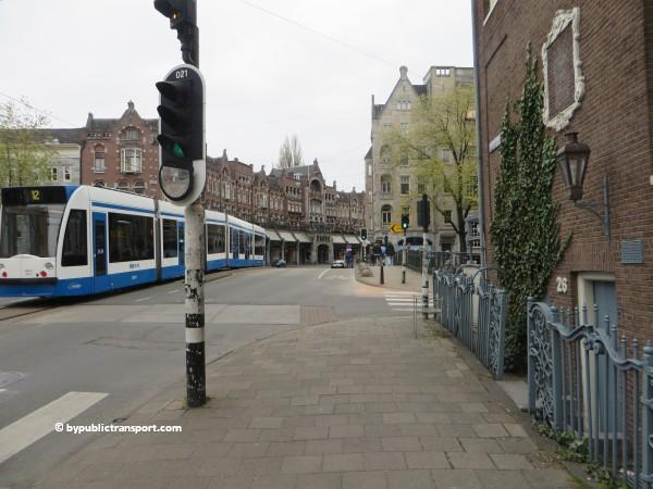 hoe kom ik bij de noordermarkt amsterdam met het ov openbaar vervoer by public transport 35