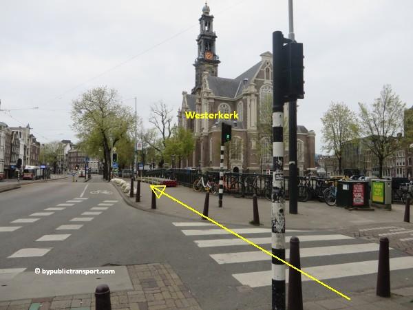 hoe kom ik bij de noordermarkt amsterdam met het ov openbaar vervoer by public transport 37