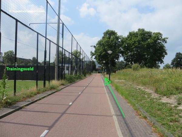 hoe kom ik bij de sportpark de toekomst met het ov openbaar vervoer 04