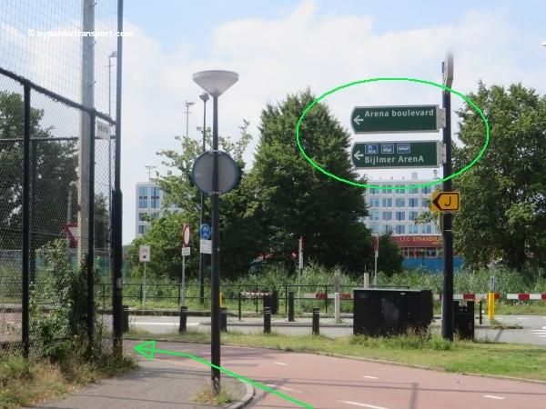 hoe kom ik bij de sportpark de toekomst met het ov openbaar vervoer 06