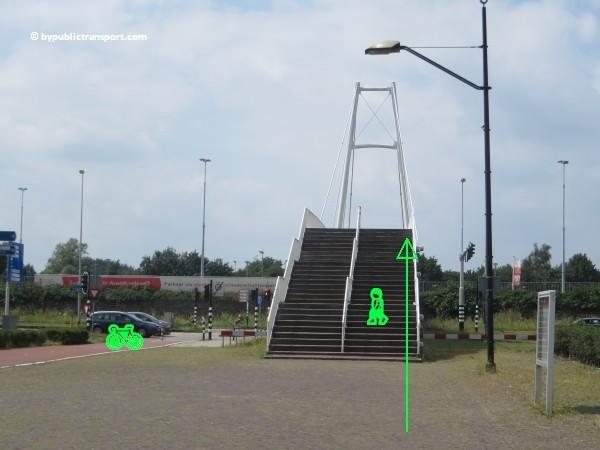 hoe kom ik bij de sportpark de toekomst met het ov openbaar vervoer 11