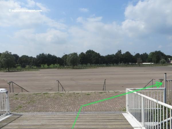 hoe kom ik bij de sportpark de toekomst met het ov openbaar vervoer 13