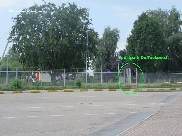 hoe kom ik bij de sportpark de toekomst met het ov openbaar vervoer 16