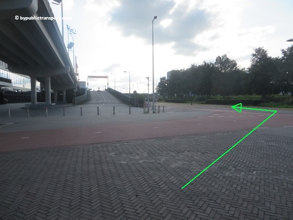 hoe kom ik bij de sportpark de toekomst met het ov openbaar vervoer 32