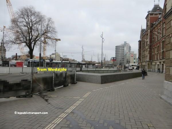 hoe kom ik bij de ten katemarkt amsterdam met het ov openbaar vervoer by public transport 02