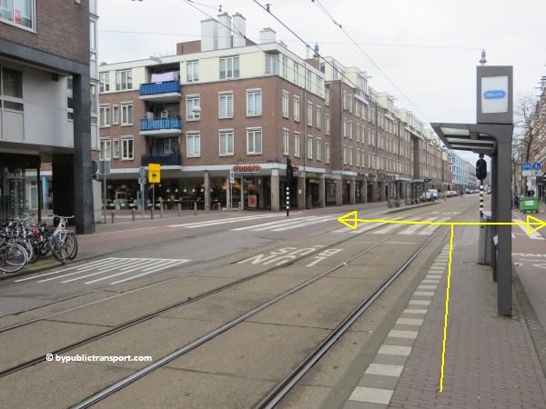 hoe kom ik bij de ten katemarkt amsterdam met het ov openbaar vervoer by public transport 06