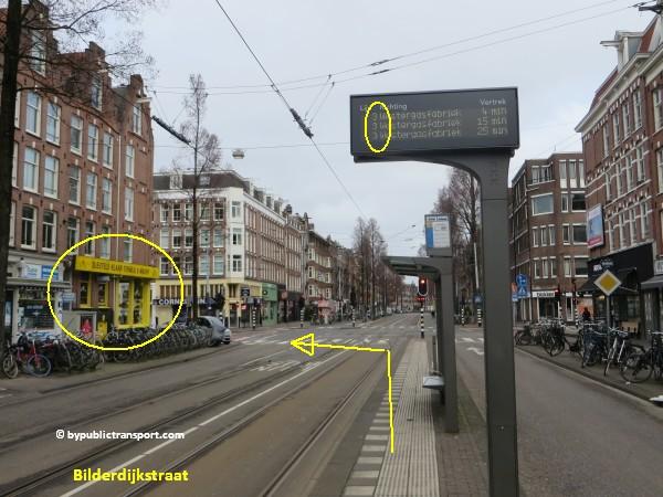 hoe kom ik bij de ten katemarkt amsterdam met het ov openbaar vervoer by public transport 09
