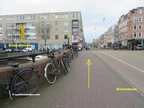 hoe kom ik bij de ten katemarkt amsterdam met het ov openbaar vervoer by public transport 12