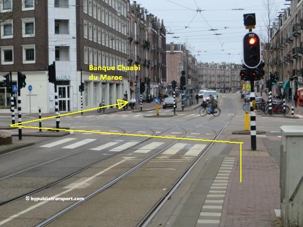 hoe kom ik bij de ten katemarkt amsterdam met het ov openbaar vervoer by public transport 17