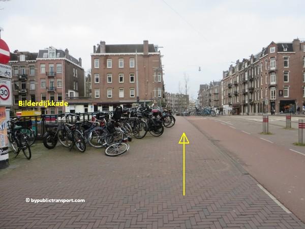 hoe kom ik bij de ten katemarkt amsterdam met het ov openbaar vervoer by public transport 19