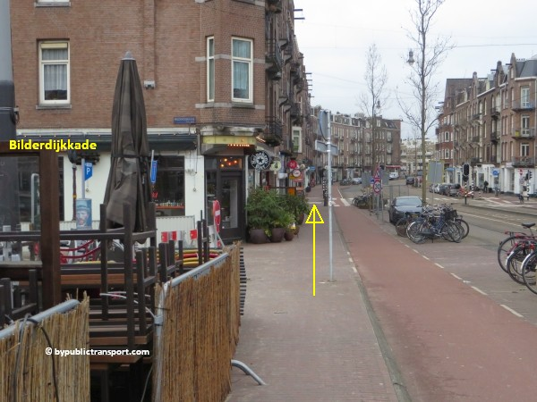 hoe kom ik bij de ten katemarkt amsterdam met het ov openbaar vervoer by public transport 20