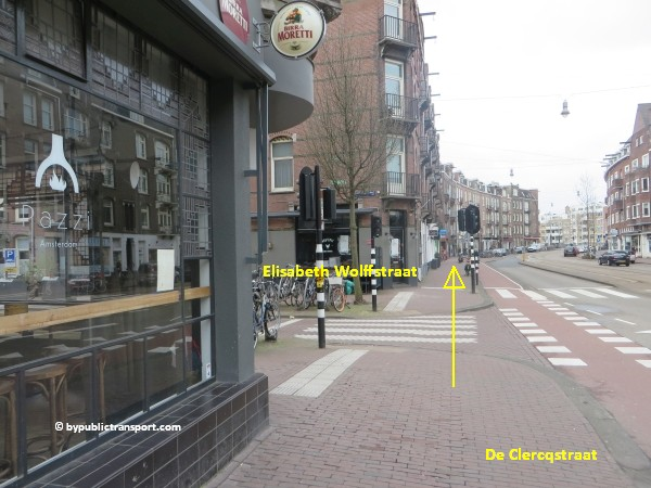 hoe kom ik bij de ten katemarkt amsterdam met het ov openbaar vervoer by public transport 21