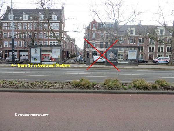 hoe kom ik bij de ten katemarkt amsterdam met het ov openbaar vervoer by public transport 26
