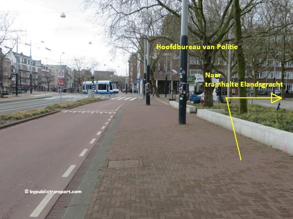 hoe kom ik bij de ten katemarkt amsterdam met het ov openbaar vervoer by public transport 27