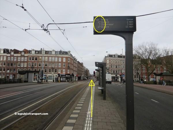hoe kom ik bij de ten katemarkt amsterdam met het ov openbaar vervoer by public transport 28