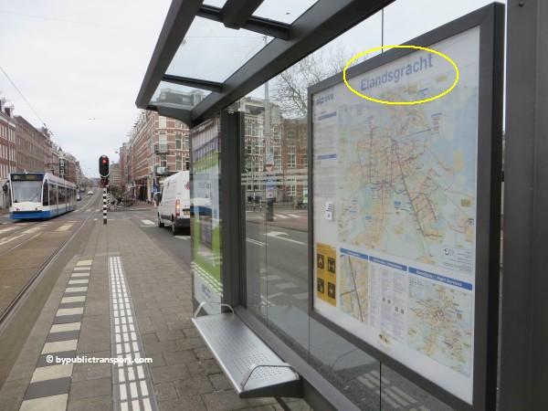 hoe kom ik bij de ten katemarkt amsterdam met het ov openbaar vervoer by public transport 29