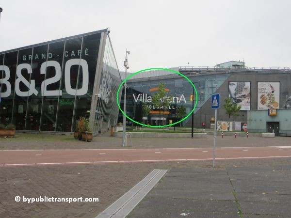 hoe kom ik bij de woonmall villa arena met het ov openbaar vervoer 11