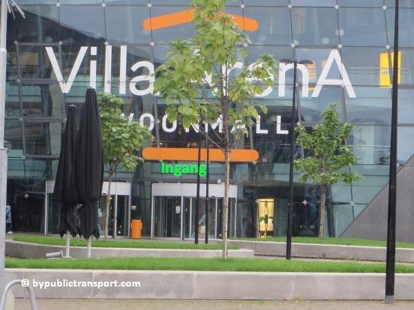 hoe kom ik bij de woonmall villa arena met het ov openbaar vervoer 12