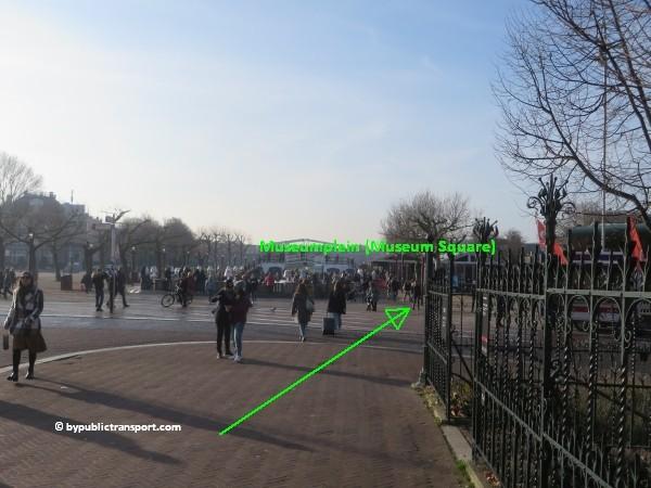 hoe kom ik bij het concertgebouw amsterdam met het ov openbaar vervoer by public transport 17