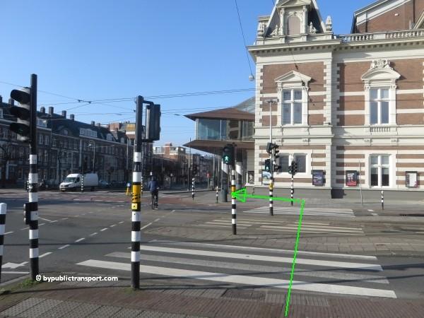 hoe kom ik bij het concertgebouw amsterdam met het ov openbaar vervoer by public transport 25