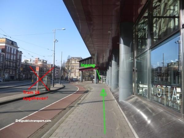 hoe kom ik bij het concertgebouw amsterdam met het ov openbaar vervoer by public transport 26