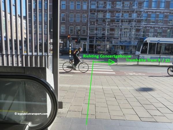 hoe kom ik bij het concertgebouw amsterdam met het ov openbaar vervoer by public transport 33