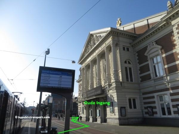 hoe kom ik bij het concertgebouw amsterdam met het ov openbaar vervoer by public transport 36