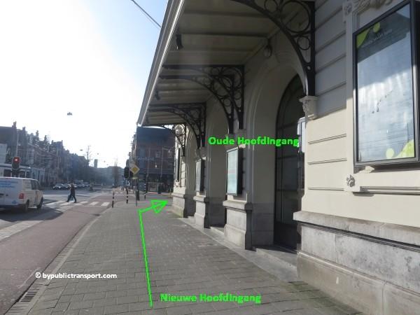 hoe kom ik bij het concertgebouw amsterdam met het ov openbaar vervoer by public transport 37