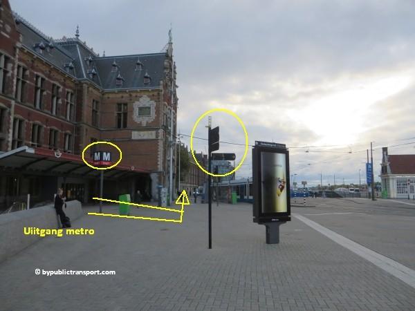 hoe kom ik bij het nemo science museum in amsterdam met het ov openbaar vervoer by public transport 07