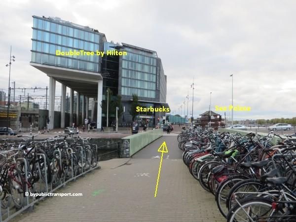 hoe kom ik bij het nemo science museum in amsterdam met het ov openbaar vervoer by public transport 20