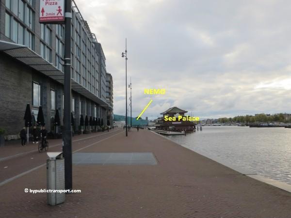 hoe kom ik bij het nemo science museum in amsterdam met het ov openbaar vervoer by public transport 21