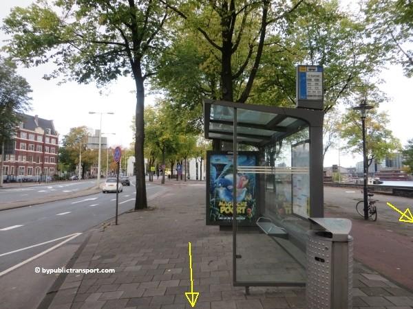 hoe kom ik bij het nemo science museum in amsterdam met het ov openbaar vervoer by public transport 30
