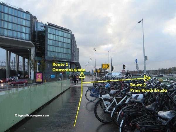 hoe kom ik bij het scheepvaartmuseum in amsterdam met het ov openbaar vervoer by public transport 26