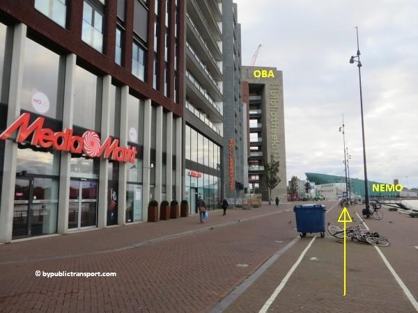 hoe kom ik bij het scheepvaartmuseum in amsterdam met het ov openbaar vervoer by public transport 30