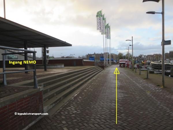 hoe kom ik bij het scheepvaartmuseum in amsterdam met het ov openbaar vervoer by public transport 35