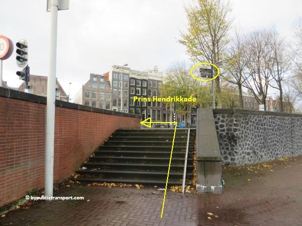 hoe kom ik bij het scheepvaartmuseum in amsterdam met het ov openbaar vervoer by public transport 37