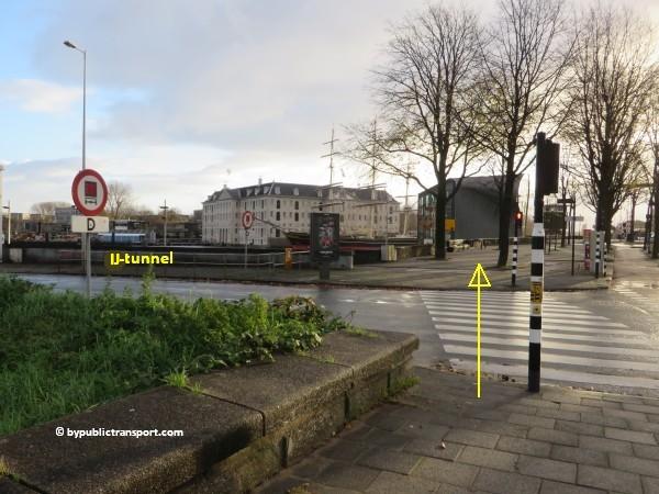 hoe kom ik bij het scheepvaartmuseum in amsterdam met het ov openbaar vervoer by public transport 46