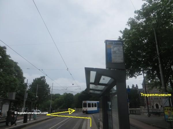 hoe kom ik bij het tropenmuseum amsterdam met het ov openbaar vervoer by public transport 06