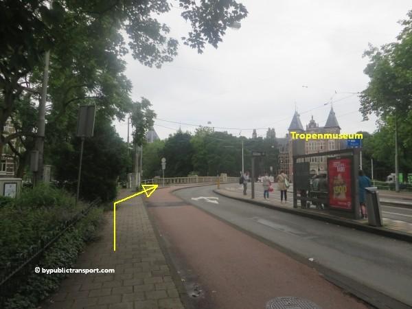 hoe kom ik bij het tropenmuseum amsterdam met het ov openbaar vervoer by public transport 07