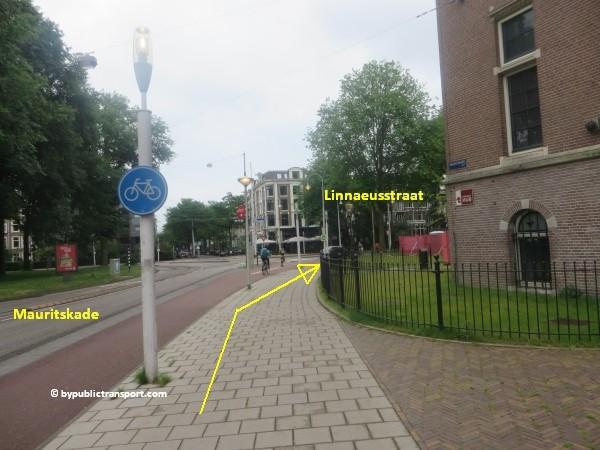 hoe kom ik bij het tropenmuseum amsterdam met het ov openbaar vervoer by public transport 13