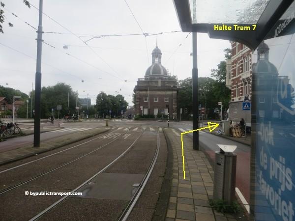 hoe kom ik bij het tropenmuseum amsterdam met het ov openbaar vervoer by public transport 16